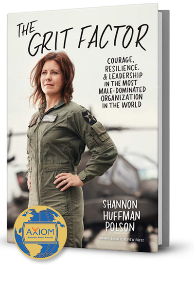 The Grit Factor Book by Shannon Huffman Polson